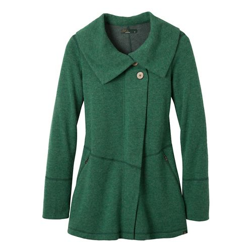Womens Prana Sephra Outerwear Jackets - Deep Jade XS
