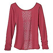 Womens Prana Serenity Long Sleeve Non-Technical Tops