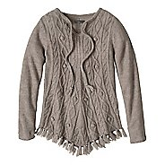 Womens prAna Shelby Poncho Long Sleeve Non-Technical Tops