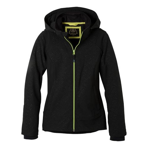 Womens Prana Sinta Outerwear Jackets - Black M