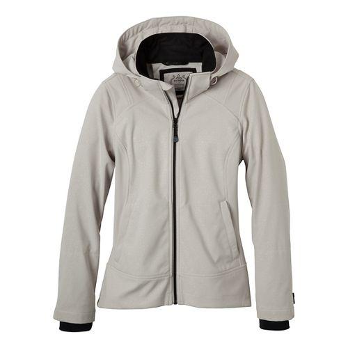 Womens Prana Sinta Outerwear Jackets - Sand L