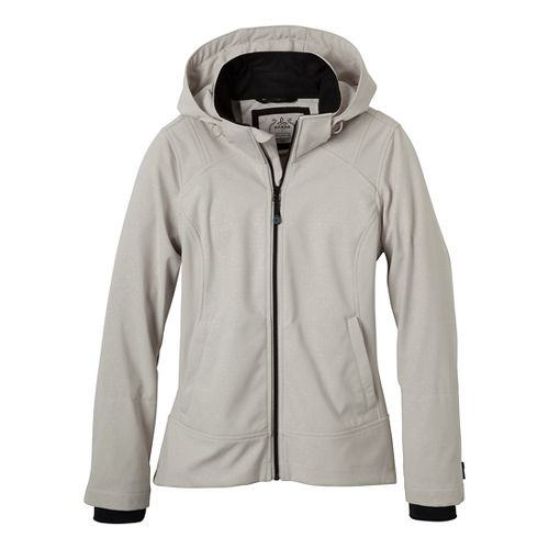 Womens Prana Sinta Outerwear Jackets - Sand M