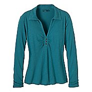 Womens Prana Sulia Long Sleeve Non-Technical Tops