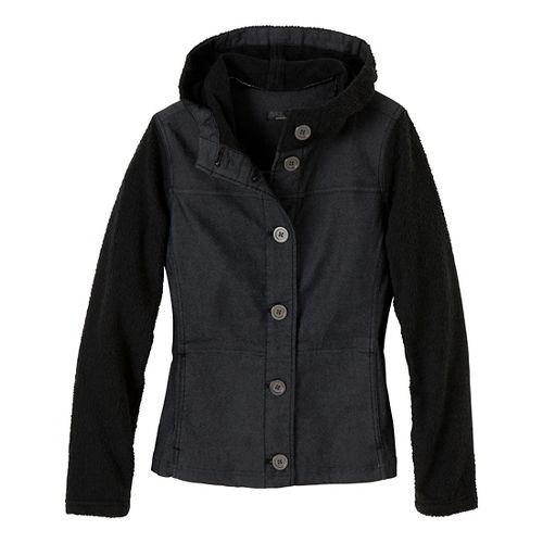 Womens Prana Toni Outerwear Jackets - Black S