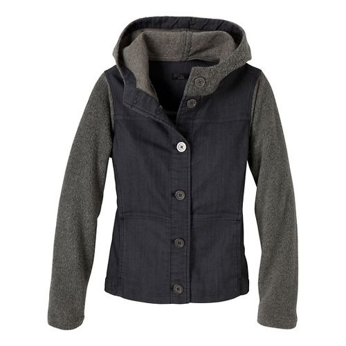 Womens Prana Toni Outerwear Jackets - Denim L