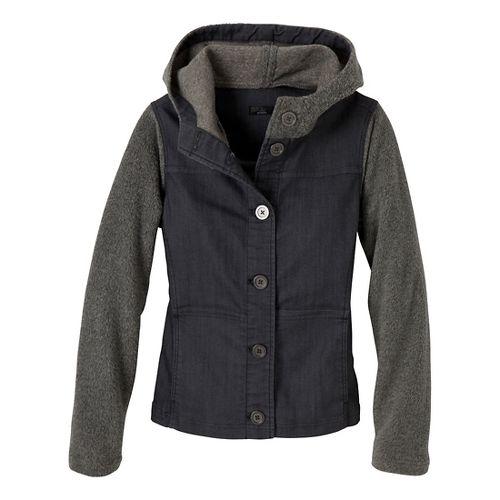 Womens Prana Toni Outerwear Jackets - Denim XS