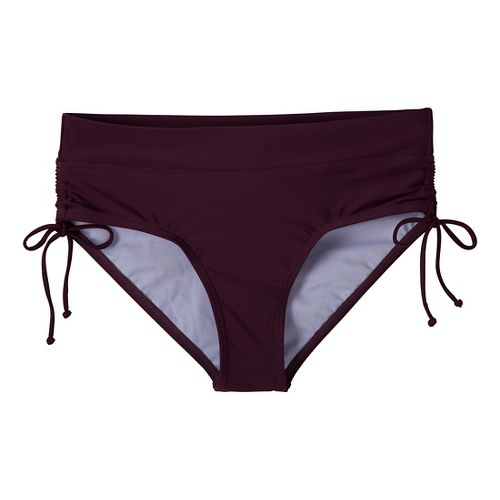 Womens Prana Ailani Bottom Swimming UniSuits - Merlot M