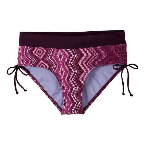 Womens Prana Ailani Bottom Swimming UniSuits - Wine Adrie L