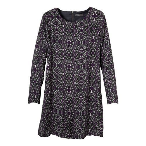Womens Prana Cece Dress Fitness Skirts - Black S