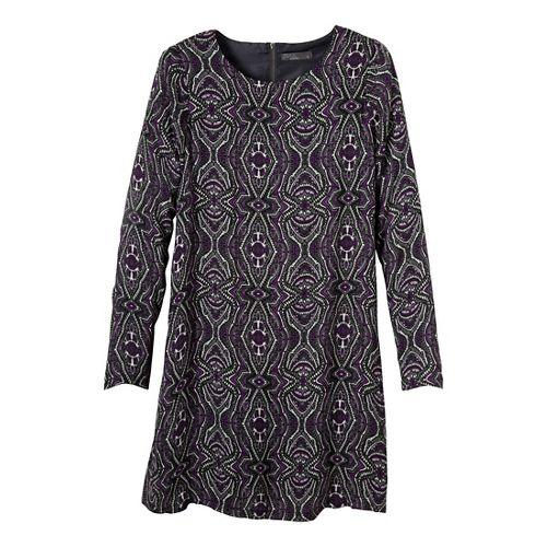 Womens Prana Cece Dress Fitness Skirts - Black XL