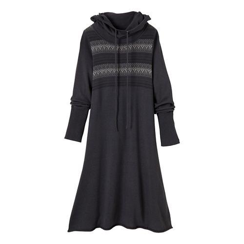 Womens Prana Coco Dress Fitness Skirts - Coal S