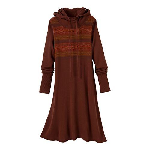 Womens Prana Coco Dress Fitness Skirts - Terracotta L