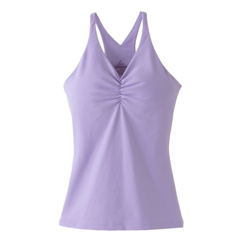 Womens Prana Sabin Chakara Tanks Technical Tops - Lavender S