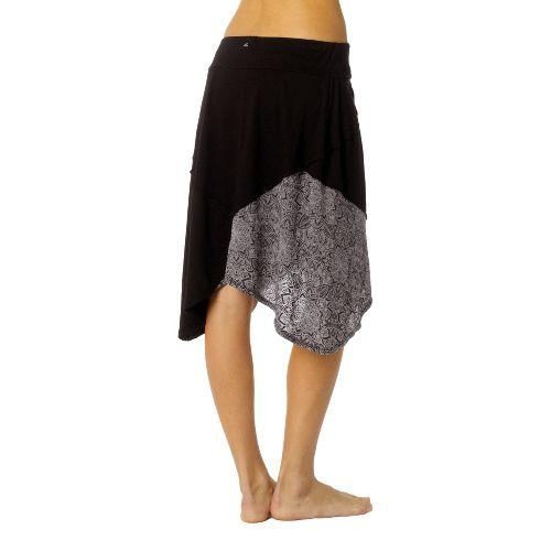 Womens Prana Coraline Fitness Skirts - Black S