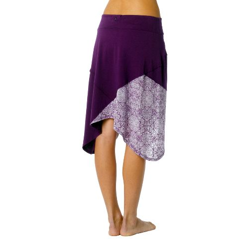 Womens Prana Coraline Fitness Skirts - Red Violet XS
