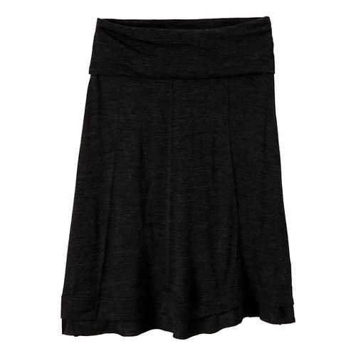 Womens Prana Daphne Fitness Skirts - Black XL