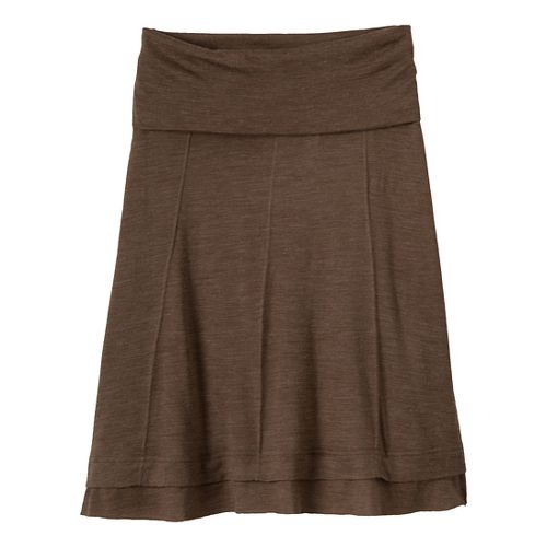 Womens Prana Daphne Fitness Skirts - Taupe S