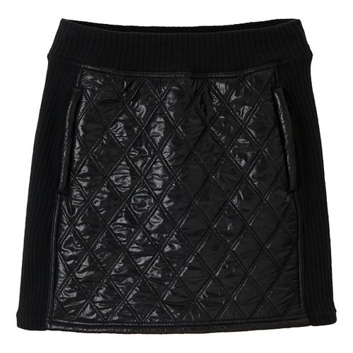 Womens Prana Diva Fitness Skirts - Black M