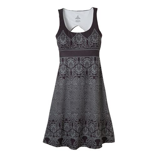 Womens Prana Holly Dress Fitness Skirts - Black M