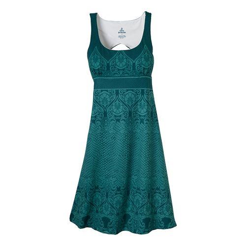Womens Prana Holly Dress Fitness Skirts - Dragonfly L