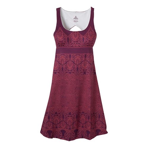 Womens Prana Holly Dress Fitness Skirts - Grapevine L