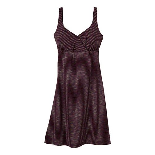 Womens Prana Ivy Dress Fitness Skirts - Dark Plum M