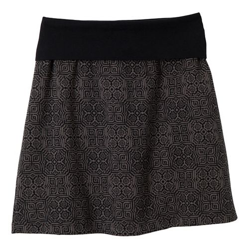 Womens Prana Roma Fitness Skirts - Black M