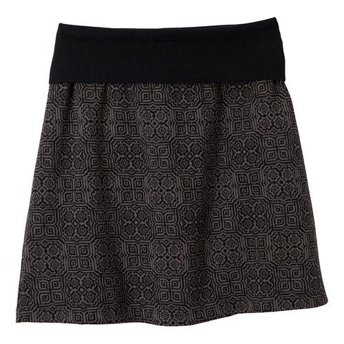 Womens Prana Roma Fitness Skirts - Black S