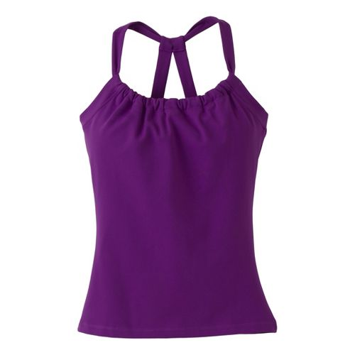 Womens Prana Quinn Chakara Tanks Technical Tops - Amethyst S