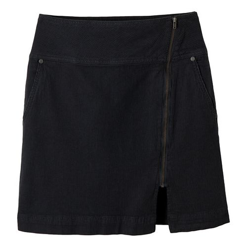 Womens Prana Tamsin Fitness Skirts - Coal 12