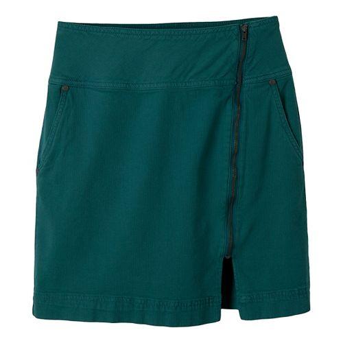 Womens Prana Tamsin Fitness Skirts - Deep Teal 12