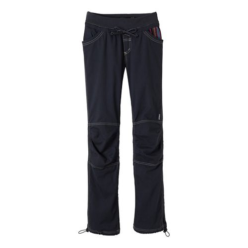 Womens Prana Avril Full Length Pants - Coal M