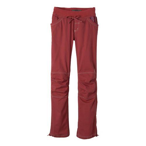 Womens Prana Avril Full Length Pants - Tomato L