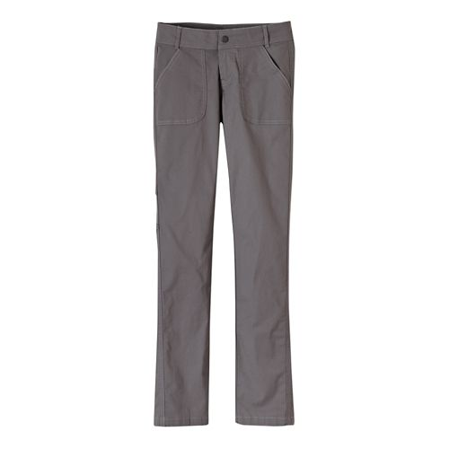 Womens Prana Evie Full Length Pants - Gravel 12