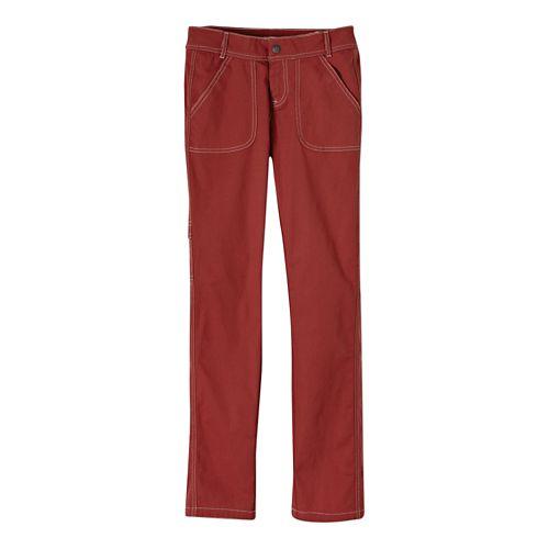 Womens Prana Evie Full Length Pants - Tomato 2