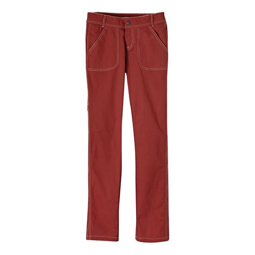 Womens Prana Evie Full Length Pants - Tomato 4
