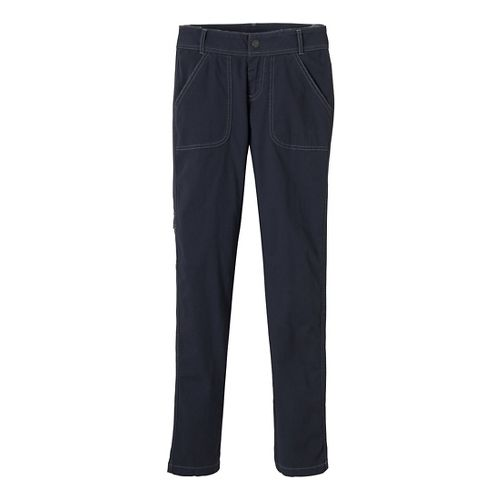 Womens Prana Evie Full Length Pants - Coal 4