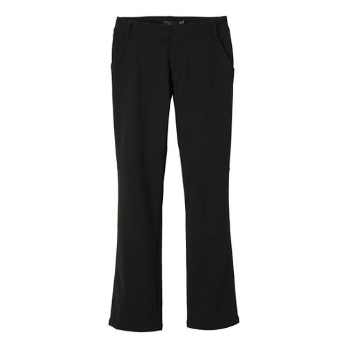 Womens Prana Gondola Full Length Pants - Black 2