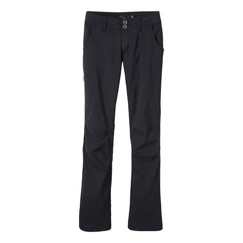 Womens Prana Lined Halle Full Length Pants - Black 14