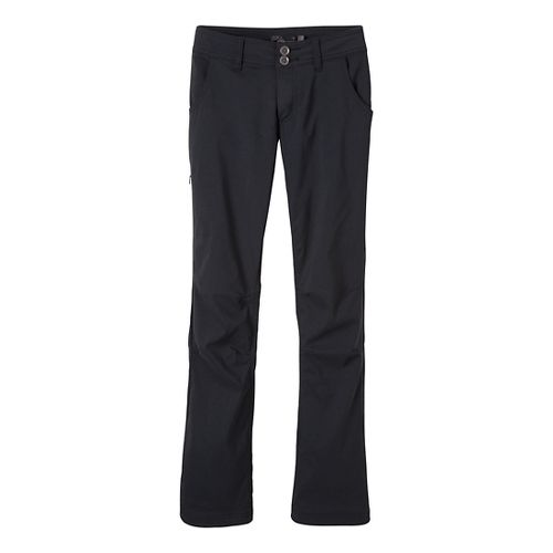 Womens Prana Lined Halle Full Length Pants - Black 6