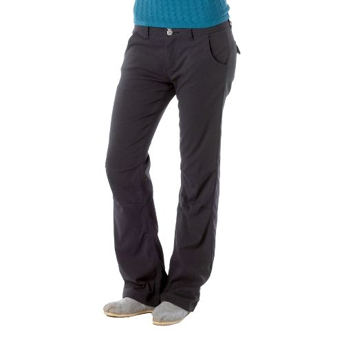 Womens Prana Lined Halle Full Length Pants - Coal 12