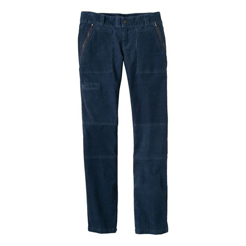 Womens Prana Jamie Cord Full Length Pants - Blue Ridge 10