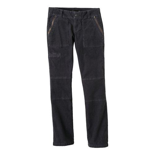 Womens Prana Jamie Cord Full Length Pants - Coal 2