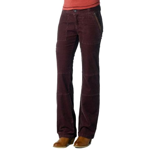 Womens Prana Jamie Cord Full Length Pants - Thistle 12