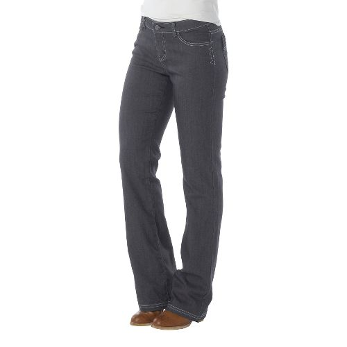 Womens Prana Jada Jean Full Length Pants - Denim 4T