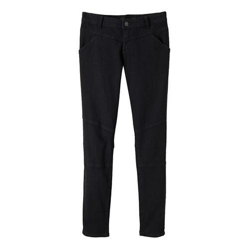 Womens Prana Jodi Full Length Pants - Coal 6