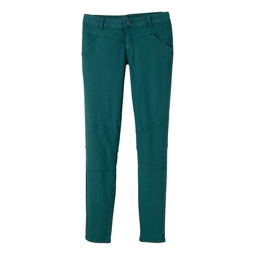Womens Prana Jodi Full Length Pants - Deep Teal 2