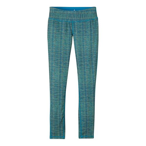 Womens prAna Maison Legging Pants - Blue/Blue XL