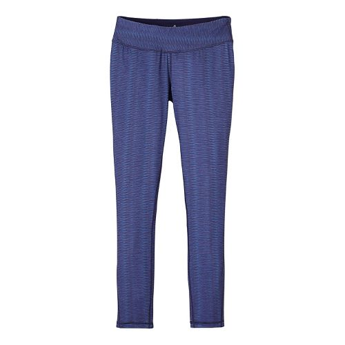 Womens prAna Maison Legging Pants - Blue L