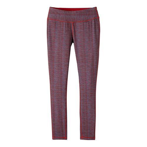 Womens prAna Maison Legging Pants - Red L